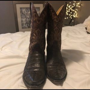 Real Caiman Boots